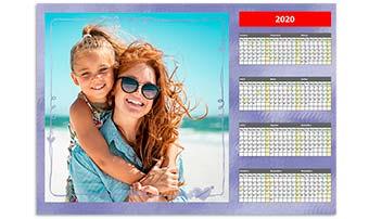 Calendário Anual 42x60cm