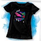 imagem de camiseta feminina